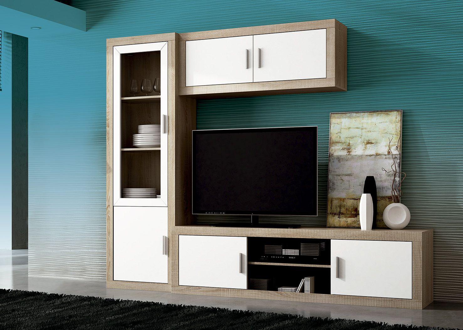 Mueble de comedor low cost laraga 02 de madera laminada - Muebles low cost ...