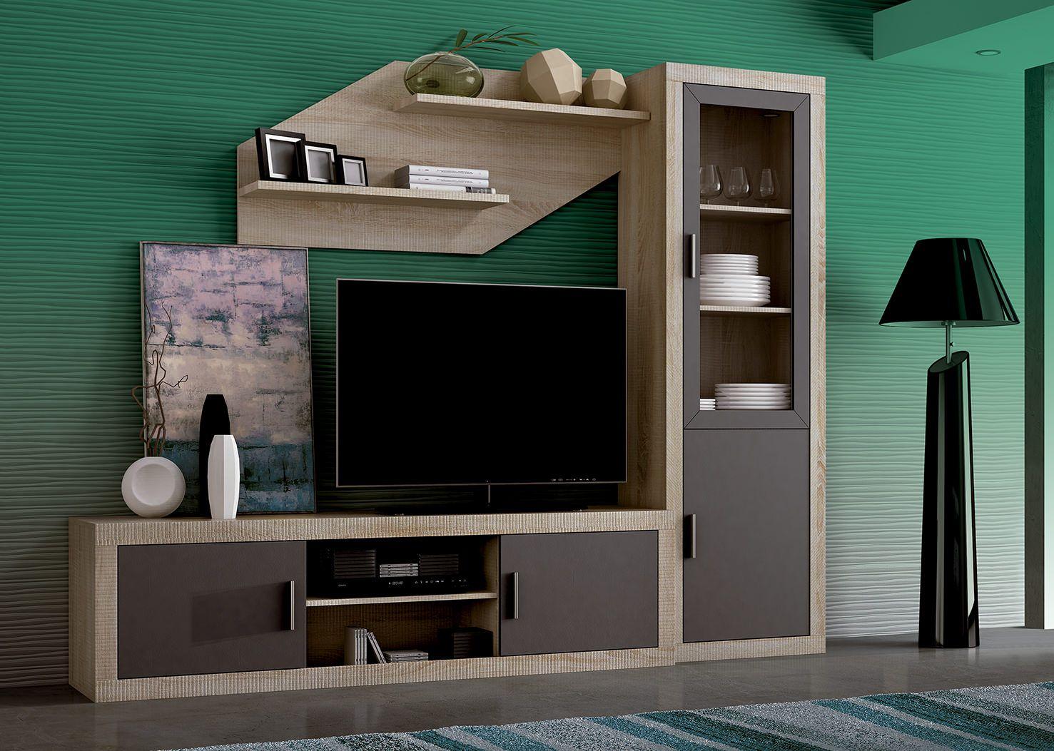Mueble de comedor low cost laraga 05 de madera laminada - Muebles low cost ...