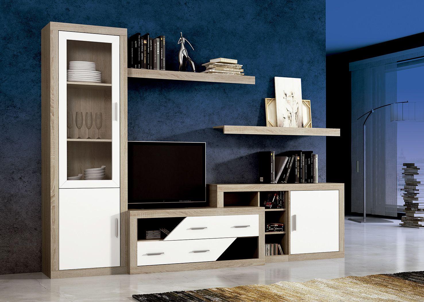 Mueble de comedor low cost laraga 07 comedor de madera laminada - Muebles low cost ...