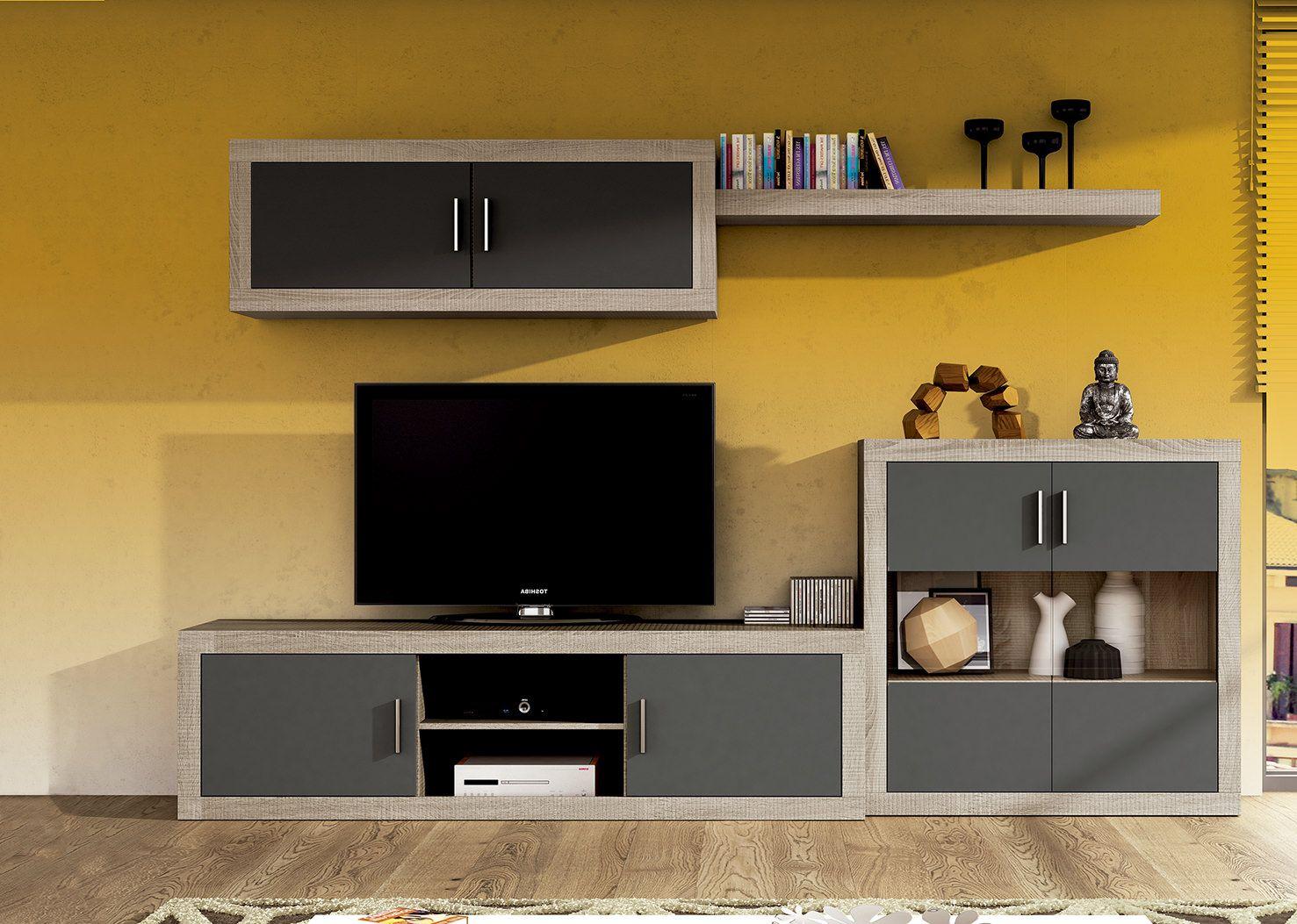 Mueble de comedor low cost laraga 08 de madera laminada - Muebles low cost ...