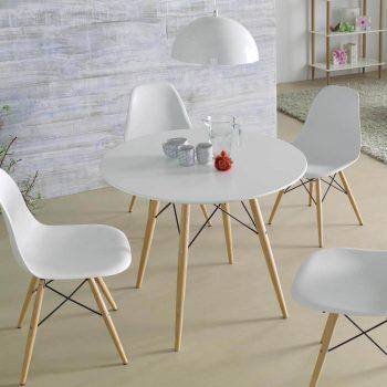 Pack mesa y sillas de estilo nordico