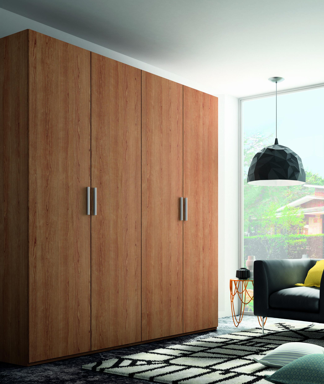 El armario de puertas abatibles xeniccnx116 de madera - Puertas armario abatibles ...