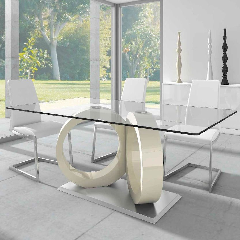 Mesa de comedor aros